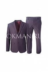 Мужской приталенный костюм Stenser 5148