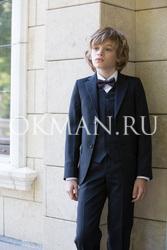 Детский темно-синий костюм-двойка Kaizer 85