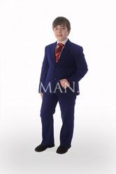 Костюм для мальчика увеличенной полноты Stenser 90-3