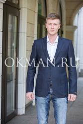Легкий  мужской пиджак без подкладки Timothy Толейно