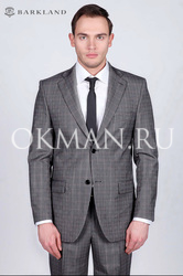 Серый классический мужской костюм Timothy Йорк